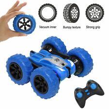 Wiederaufladbar RC Ferngesteuertes Stunt Auto Rennauto Spielzeugaut Auto Blau