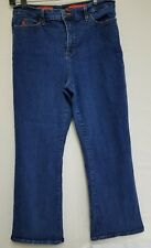 NYDJ Not Your Daughter's Jeans Tummy Tuck Boot Cut Stretch 14P Made In USA