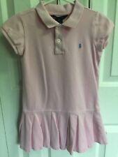 Ralph Lauren Polo dress girls  size 5 Pink