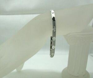 Stylish Lovely 9 Carat White Gold Bracelet