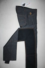 montar jug. Jodhpur Reithose, denim black, VB, Jeans denim schwarz, Gr. 128 / 8J