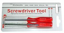 2 Schraubendreher Kreuzschlitz + Triwing z.B. für Nintendo Wii, DS, DS Lite, DSi