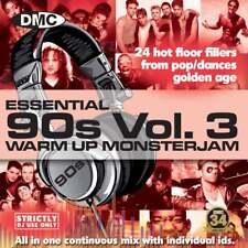 DMC Essential Warm Up 90s Monsterjam Vol 3 Party DJ CD Mixed By Ivan Santana