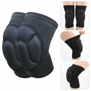 2x Knee Pads Construction Gel Hiking Safety Comfort Knee Protector Equipment UK