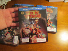 TEEN TITANS THE JUDAS CONTRACT BLU-RAY + DVD + DIGITAL HD DC STEELBOOK TARGET