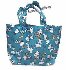 Snoopy Peanuts School Picnic MINI Snack Bag Tote B