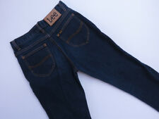 *B-045 LEE VINTAGE TRUMPET LEG STRETCH BLUE DENIM JEANS SIZE 10