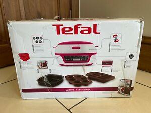 Tefal Cake Factory KD801840 Precision Baking Machine - White/Pink