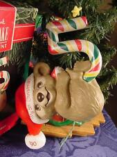 1990 HALLMARK Child's FIFTH CHRISTMAS ORNAMENT Baby's First in 1986 Here's #5 MB