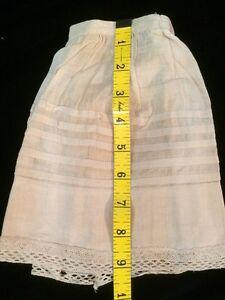 Antique Doll Slip Skirt Petticoat Primitive Teddy Bears Bisque Baby Underwear