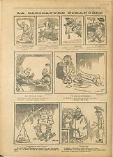 Caricature Guerre Guillaume/ Wilhelm II Bear Ours Bolsheviks Bolcheviks 1918 WWI