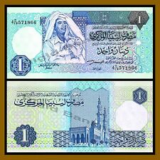 Libya 1 Dinar, ND 1993 P-59a Muammar Gaddafi About Unc