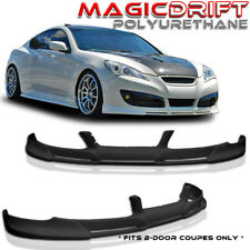 FIT FOR 10 11 12 HYUNDAI GENESIS COUPE PD FRONT BUMPER LIP SPOILER POLY URETHANE