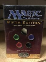 Magic The Gathering 5th Edition Two Player Starter Deck Sealed For Card Game MTG