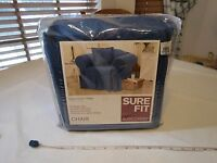sure fit slip covers Jeans denim Slipcovers chair indigo 141027253 451 kick NOS