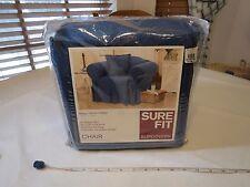 sure fit slip covers Jeans denim Slipcovers chair indigo 141027253 451 kick NOS