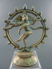 Indian Bronze figure de shiva comme Lord of the Dance