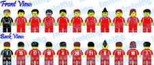 Custom LEGO Chile Football Team 11 Players Vidal Bravo #241A