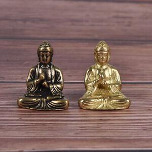 2 colors Mini Size Thai Style Buddha Statue Home Decoration Small Ornamen^TA