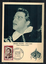 1961 - Fdc Carte 1°Jour - G. Philippe -Obl.Cannes - Timbre - Yt.1305