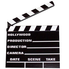 DIRECTORS CLAPPERBOARD HOLLYWOOD MOVIES FILM FANCY DRESS PROP PARTY DECORATION