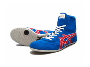 asics Wrestling shoes EX-EO TWR900 Blue Red JAPAN / Boxing shoes