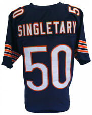 NEW! Mike Singletary Chicago Bears Blue Size XL Custom on-field Football Jersey