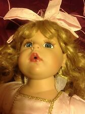 "Beautiful 16"" Seating Doll - Marked 261"