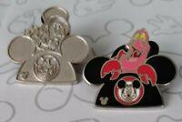 Earhat 2015 Hidden Mickey Mouse Ears Hat Set WDW Disney Pin