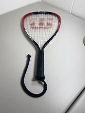 Wilson Titanium Racquetball Racquet Fire Xt Case Included 3 7/8� Grip