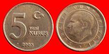 5 KURUS 2005 TURQUIA-21484