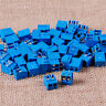 NEW 50pcs Plug-in Screw Terminal Block Connector 5mm Pitch PCB Mount 2way 2-Pin