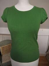 Divided coton doux Macha Vert T-shirt Taille de S 34