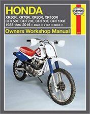Honda Xr80r Xr100r Workshop Service Manual