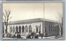MODESTO, CA  California    POST OFFICE Street View   c1940s  Cars Postcard