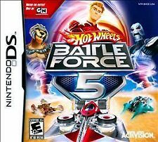 Hot Wheels: Battle Force 5 USED SEALED (Nintendo DS, 2009)