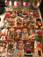 "Lot of 42 Vintage Golden Girl Christmas Cards "" Big Eye Style"""