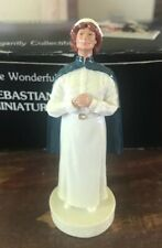 "Vtg 1996 Sebastian Miniatures ""Traditions of Caring�(Nurse)8121 Signed -in Box"