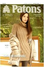 Patons 3876 - Fab DK (leaflet) Ladies Winter Looks, knitting patterns