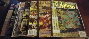 35 Quilting & Cross Stitch Magazine Lot (Many Quilt Magazines) Quilter