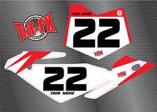 Husqvarna Custom MX Background Graphics - Numbers CR50 CR65 CR125 TC250r TC449