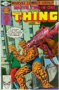 Marvel Two-In-One # 70 (Thing + ?!) (Mike Nasser) (USA, 1980)