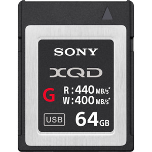 Sony XQD G Series 64 GB Speicherkarte - (qdg64f)