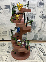 6pcs/set Pokemon Anime Decoration Miniature Staircase Figure Decor Gift