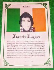 IRISH REPUBLICAN LONG KESH FRANCIS HUGHES HUNGER STRIKER MAZE PRISON SINN FEIN