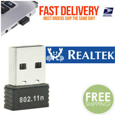 RealTEK Mini USB 150Mbps Wireless 802.11B/G/N LAN Card WiFi Adapter Nano Wlan