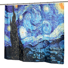 Home Fashions The Starry Night Fabric Shower Curtain 180cm(L) x180cm(W )