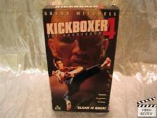 Kickboxer 4 - The Aggressor (VHS, 1994) Sasha Mitchell