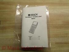 Brady 12 Manual For Handi Mark Portable Label Maker