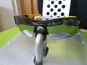 OAKLEY FLAK JACKET XLJ  POLARISED Sunglasses half wrap sport cycling